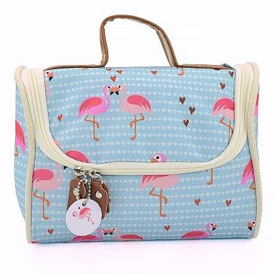 Bolsa Térmica  Pequena Flamingos