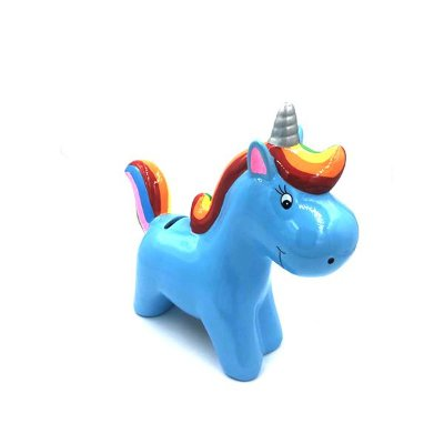 Cofre Unicórnio Azul