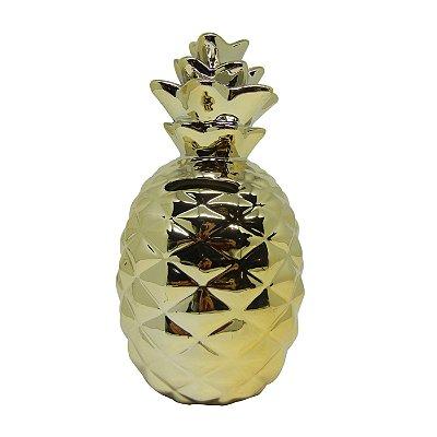 Cofre Abacaxi Dourado