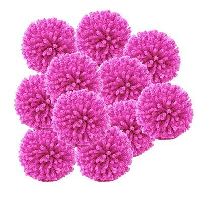 Pacote Pompom de Lã Pink