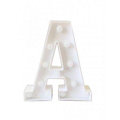 Luminária Letra A