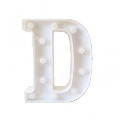 Luminária Letra D