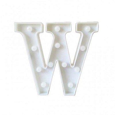 Luminária Letra W