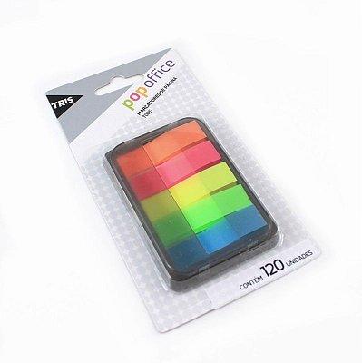 Marcadores de Página Neon 5 cores