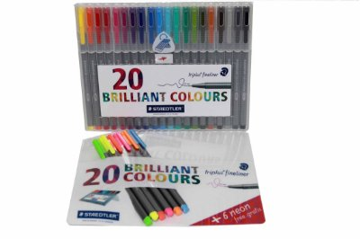 Conjunto de Caneta Staedtler Brilliant Colour