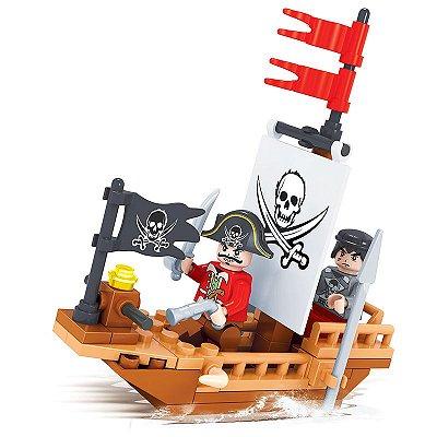 Brinquedo de Lego Barco Pirata
