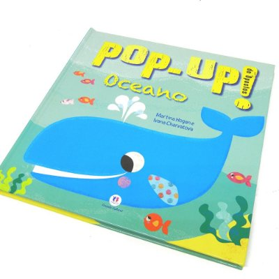 Livro Pop- Up Oceano