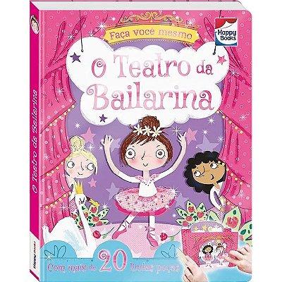 Livro Bailarina 20 Peças