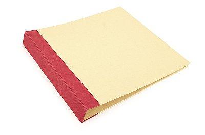 Àlbum para Scrapbook Vermelho