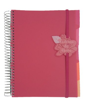 Caderno da Noiva Rosa