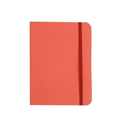 Caderno Médio Brochura 80 Folhas Laranja