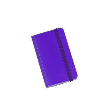 Caderninho Brochura 80 Folhas Roxo