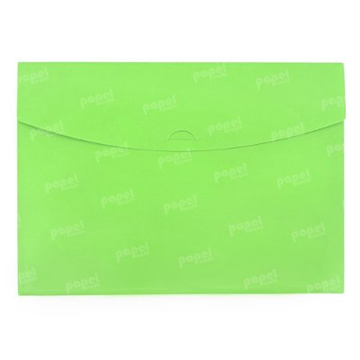 Pasta Envelope Verde Neon