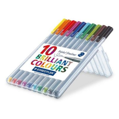 Conjunto Fineliner Brilliant Colours 10 Unid