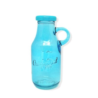 Garrafinha de Vidro Original 300ml Azul