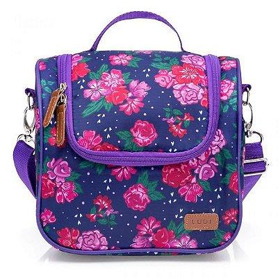 Bolsa Térmica Floral com Alça