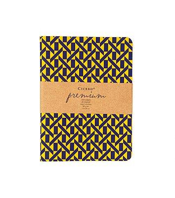 Caderneta Premium Laranja 15x20cm