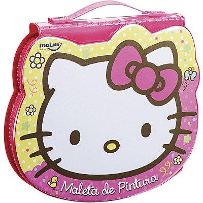 Maleta Artística Hello Kitty Amarela