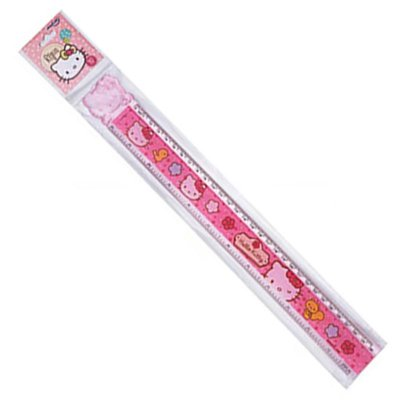 Régua 30cm Hello Kitty Rosa