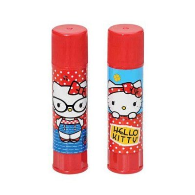 Cola Bastão 9g Hello Kitty Vermelha