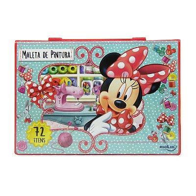 Maleta Artística 72 Peças Minnie Mouse