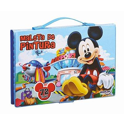 Maleta Artística 72 Peças Mickey Mouse