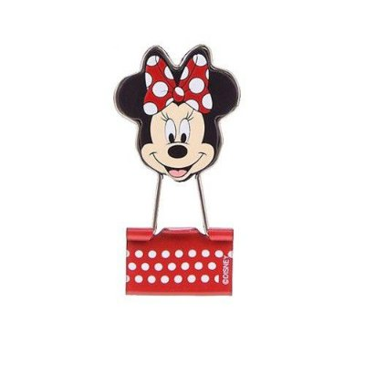 Binder Clips 4 Unidades Minnie