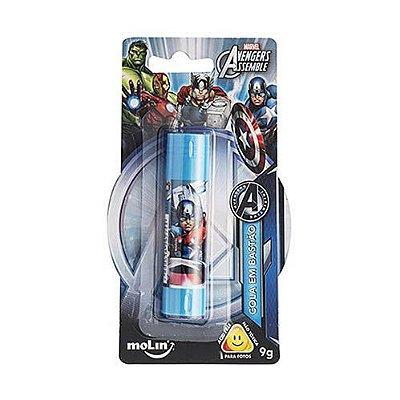 Cola Bastão Vingadores Azul