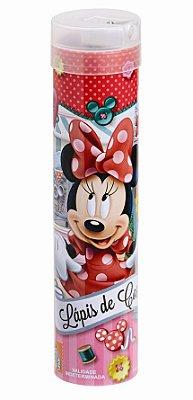 Lápis de Cor com Apontador 24 Cores Minnie Mouse