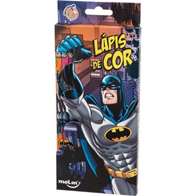 Lápis de Cor 12 Cores Batman