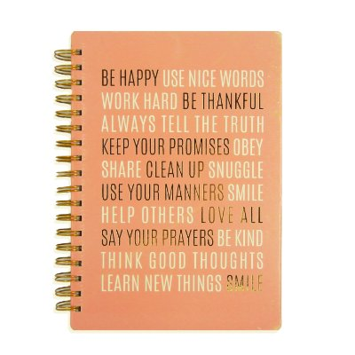 Caderno Journal Be Happy