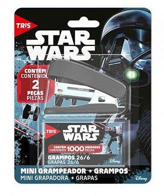 Mini grampeador com Grampos Star Wars