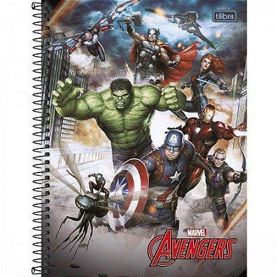 Caderno Os Vingadores 10 Materias