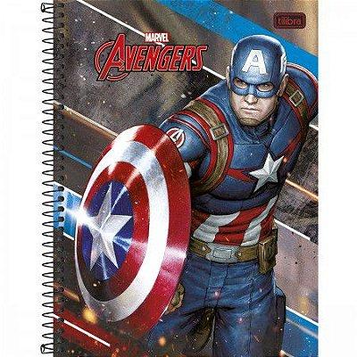 Caderno Capitão America 10 Materias