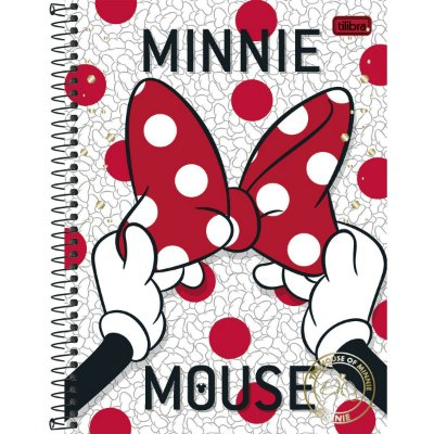 Caderno Minnie Laço 96 Folhas