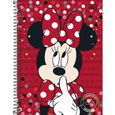 Caderno Minnie 200 Folhas