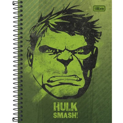 Caderno Hulk Médio
