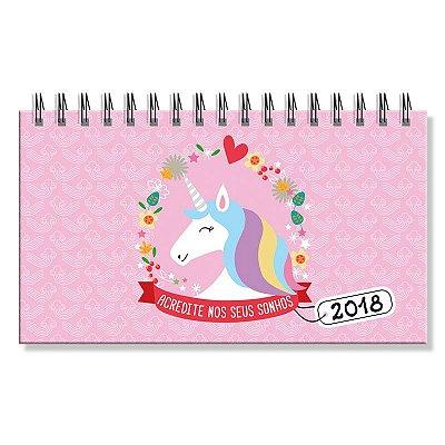 Agenda 2018  Unicórnio Mini Semanal