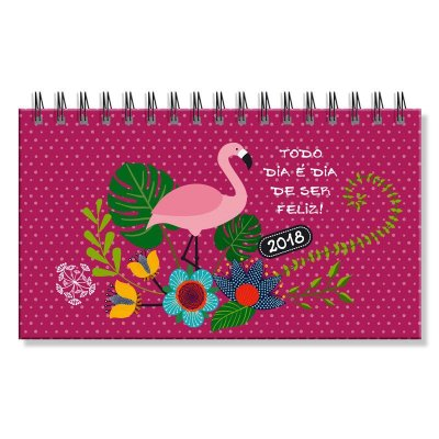 Agenda 2018 Flamingo Mini Semanal