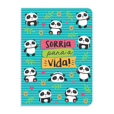 Caderninho Brochura Ursinho Panda Sem Pauta