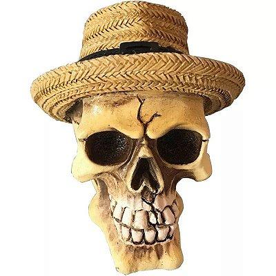 Caveira Chapéu Panamá