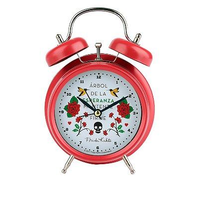 Relógio Despertador Floral Frida