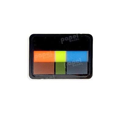 Post-It Neon Laranja e Verde/Amarelo