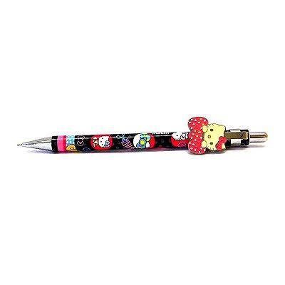 Lapiseira Clip 0.7 Hello Kitty Colorida