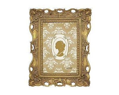 Porta Retrato Chic Dourado