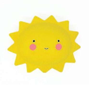 Mini Luminária Sol Feliz