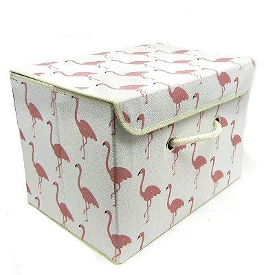 Caixa Organizadora Desmontável Flamingo