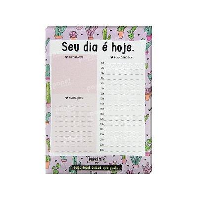 Planner Diário Cactos