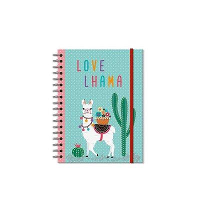 Caderno Lhama Pequeno 100 folhas