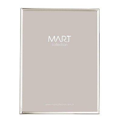 Porta Retrato Clean Prata 20x25cm